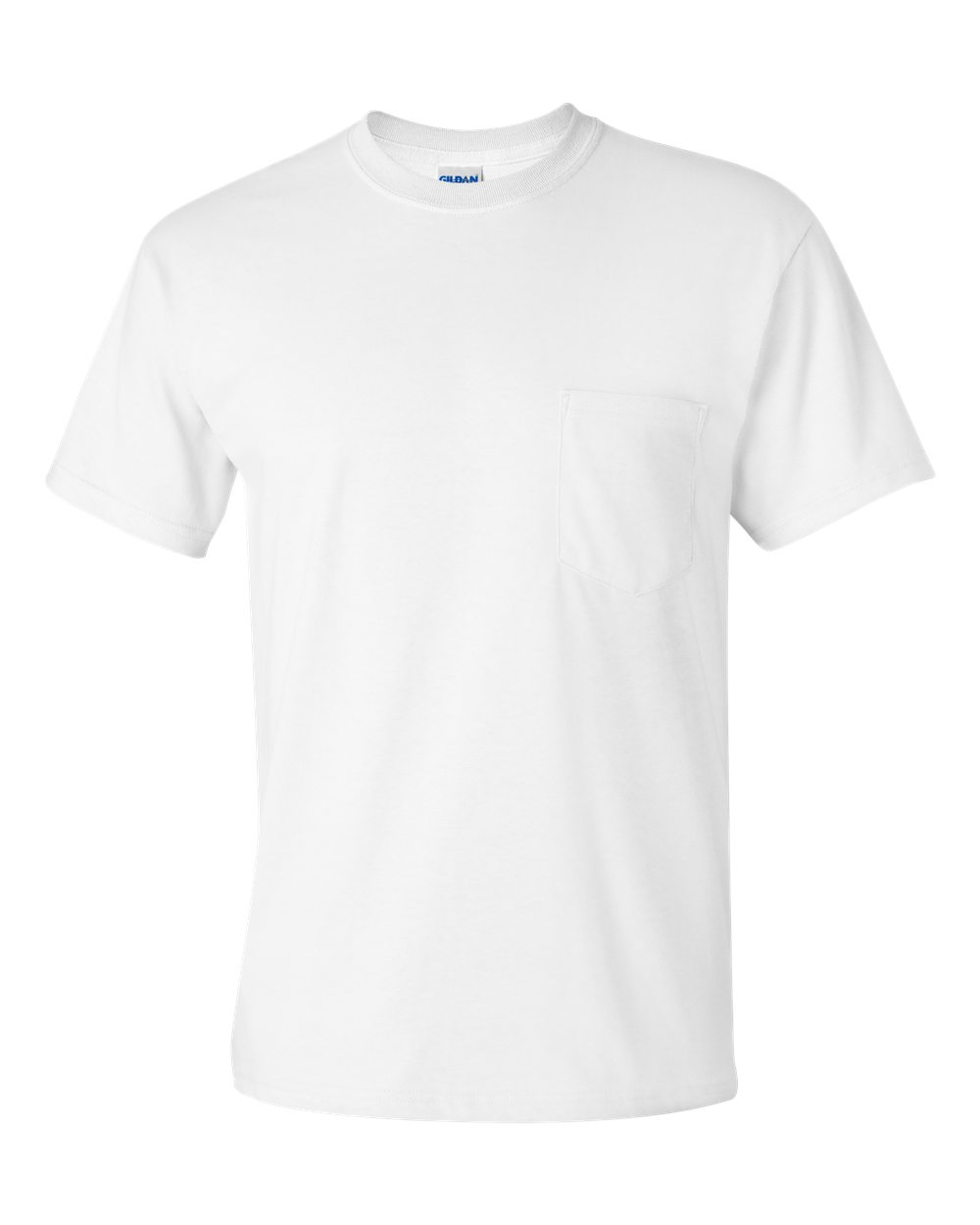 Design t shirt with front pocket - Ultra Cotton T Shirt With A Pocket