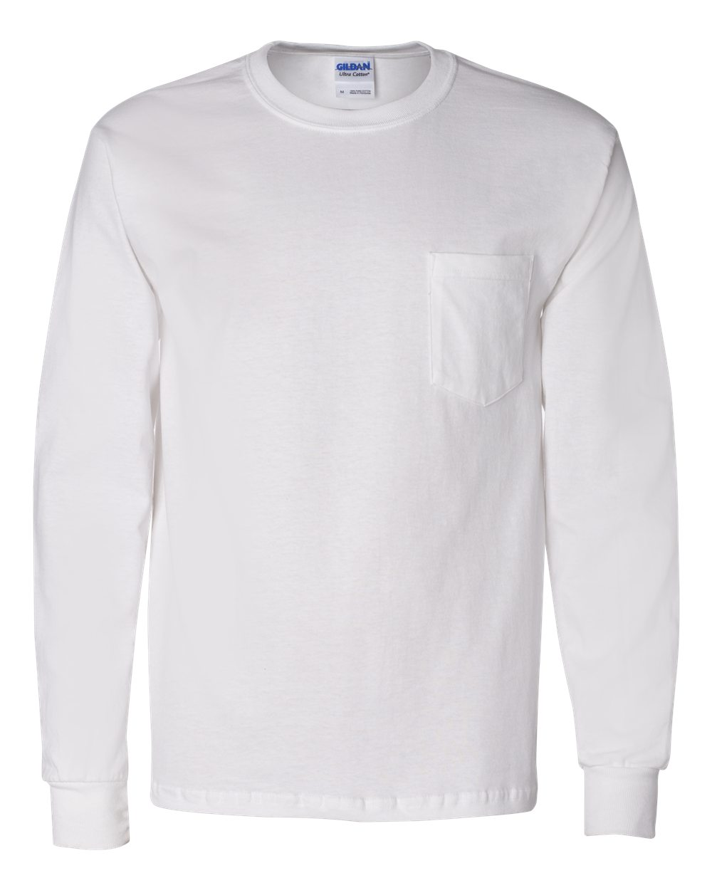 Ultrapress Custom Gildan Ultra Cotton Long Sleeve T Shirt With A